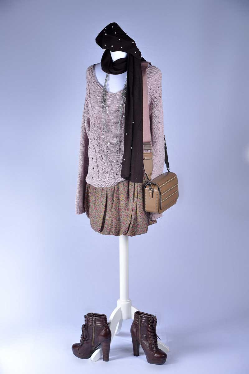 Mannequin tenue d'hiver